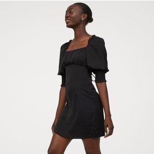 H&M black laced dress